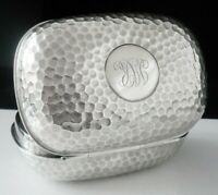 Excellent Antique Silver Soap Box, William Comyns, London 1907