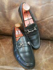 Allen Edmond's Men Black Leather Shoe Size 9.5D