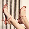 2019 Chic Womens Sandals Shoes Stilettos Heel Open Toe Cross Strap Buckle Sbox4