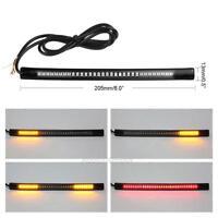 Mini LED Blinker Rücklicht Bremslicht Signallicht Universal Motorrad Strip LED
