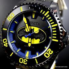 Invicta DC Comics Batman Grand Diver Black Steel 47mm Automatic LE Watch New