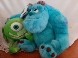 MONSTERS INC. SULLY & MIKE DUO PLUSH TOY.   BNTW.         (BJ97)