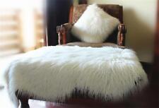 Sheepskin Long Hair Shaggy Wool Cushion Soft Fur Rug Sofa Faux Lambs Wool