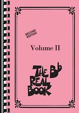 THE REAL BOOK VOLUME II MINI EDITION (B-FLAT) FAKE BOOK SHEET MUSIC SONG BOOK