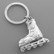 TIFFANY & Co. STERLING SILVER ROLLERBLADE KEYRING HUGE WITH POUCH