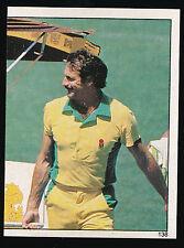 1983 Scanlens Cricket Sticker unused number 138 Drink Trolley Dennis Lillee
