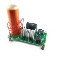 Mini Tesla Coil Plasma Speaker Electronic Kit 15W DIY Kits +Stainless Ball Newsr