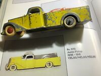 "1936 Tootsie Toy Jumbo Pickup 6"" Long"