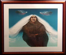 "Frank Howell ""Twilight Ascension"" Lithograph Art with Custom frame Hand Signed"