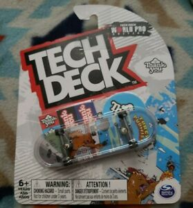 Tech Deck - Thank You ULTRA RARE - World Pro Edition - Torey Pudwill Fingerboard