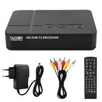 DECODER RICEVITORE DIGITALE TERRESTRE DVB-T2 TV FULL HD 1080P PVR USB HDMI MPEG4
