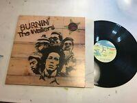 Burnin' LP The Wailers Gatefold ILPS 9256 island bob marley reggae rare '73 '74