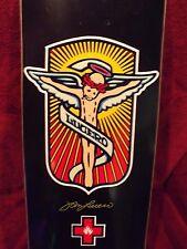 Nos Black Label John Lucero skateboard deck, red cross series,alva,g&s,madrid