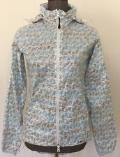 MAHARAM x NIKE  Womens Skinny Dunk Windbreaker Rain Coat Jacket S RARE Athletic