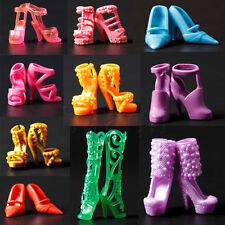 20 Paires Chaussures poupée Mode Haut Talon Mixed Shoes pour 29cm Barbie HG