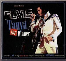 Elvis PRESLEY CD Tanya for Dinner-Live in Las Vegas 1975