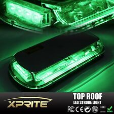 44 LED Top Roof Emergency Hazard Warning Flash Strobe Light Green