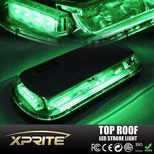 44 LED 44W Roof Top Emergency Hazard Warning Flash Strobe Light Lamp Green