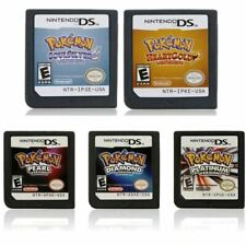 Pokemon HeartGold SoulSilver Platinum Game Card For Nintendo 3DS DS Lite DSi NDS