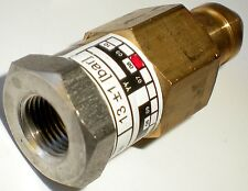 Thermoplan Coffee Machine 109704 Pressure Control Valve Switzerland 13 Bar Max