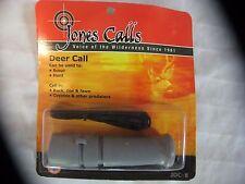 NEW JONES CALLS DEER CALL ARCHERY/RIFLE HUNTING OR PHOTOGRAPHY MODEL JDC-8