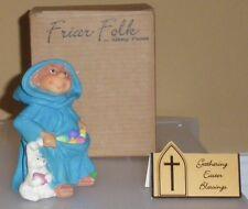 """FRIAR FOLK/SISTER fOLK*Maureen Carlson*-""""Gathering Easter Blessings""""-50047 Sweet"""