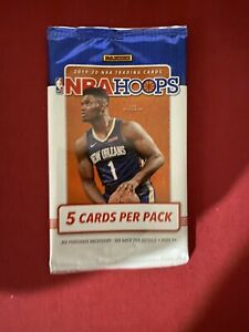 NBA HOOPS 2019-20 Pack sealed Zion Neon Ja RC Lebron Rookie Basketball Cards