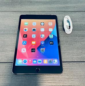 Apple iPad mini 4, 128GB, WiFi + Cell, Space Grey - Grade A/B
