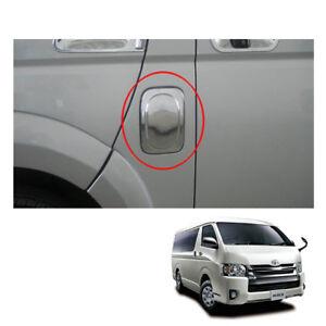 Tank Fuel Cap Cover Chrome Trim For Toyota Hiace Commuter Van 2005 - 2014 - 2017