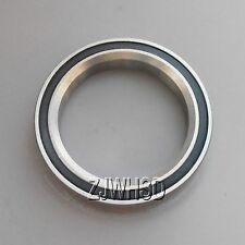 "37 x 49 x 7mm 45°x45° 2RS Taper ACB Angular Contact Bearing for 1-3/8"" Headset"
