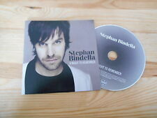 CD POP Stephan BINDELLA-A Night to Remember (1) canzone PROMO MOTORE Music