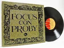 FOCUS CON PROBY self titled LP EX+/VG 1C 064-25 713, vinyl, album, pj proby P.J.