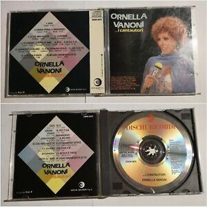 ORNELLA VANONI - I CANTAUTORI - CD USATO - FUORI CATALOGO
