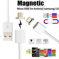 M1 2.1A Micro USB Charging Cable Magnetic Adapter Charger for Samsung LG Huawei