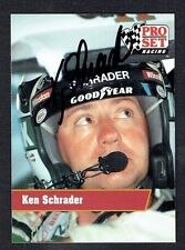 Ken Schrader #50 signed autograph auto 1991 Pro Set NASCAR Trading Card