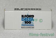 5 rolls ILFORD DELTA 100 Professional Black & White Film 120