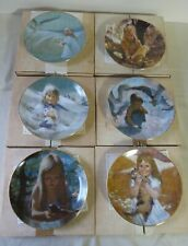 Precious Moments Collection by Thornton Utz Complete set of 6 Viletta China