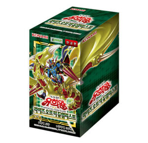 """Yugioh Cards """"Rise Of The Duelist"""" Booster Box ROTD-KR / Korean Ver"""