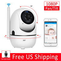 1080P Home Security HD IP Wireless Smart WiFi Audio App Surveillance CCTV Camera