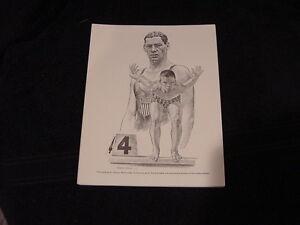 VINTAGE 1960's Johnny Weissmuller Equitable Life 7x9 B&W Print, HI GRADE!