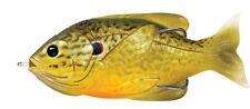Live Target Sunfish Hollow Body SFH75T557 Green Bronze Pumpkinseed Topwater Lure