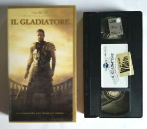 VHS Film Ita Avventura IL GLADIATORE Russel Crowe ex nolo no dvd cd mc lp (V0) °