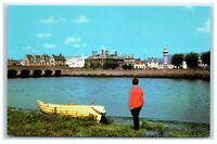 Postcard The River Taw Barnstaple Devon