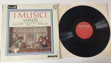 """RARE 12"""" LP I MUSICI FELIX AYO VIVALDI IL CIMENTO DELL'ARMONIA PHILIPS STEREO"""