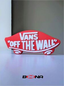 """Decorative VANS """"Off the Wall"""" self standing logo display"""