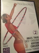 (DVD) Hoopnotica 2 Angles Thighs Chest + Shoulders Additional Corkscrews NEW