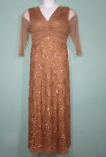 Romans Women Dress Full Length Lace and Sequin  Dress  Size 16W MSRP $219