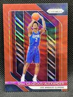 2018 Panini Prizm Ruby Wave Shai Gilgeous-Alexander Centered HOT