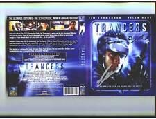 Trancers Blu Ray signed by Tim Thomerson Charles Band Danny Bilson Megan Ward +2