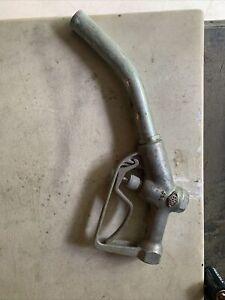 vintage EBW 498 aluninum gas pump handle nozzle